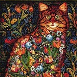 TAPESTRY CAT Diamond Painting Kit Paint with Diamonds Kit