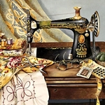 SEWING MACHINE Diamond Painting Kit Paint with Diamonds Kit
