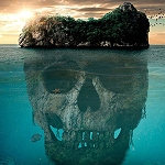 SKULL ISLAND PIRATE Diamond Painting Kit Paint with Diamonds Kit