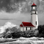 STORMY LIGHTHOUSE Diamond Painting Kit Paint With Diamonds Kit