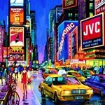 TIMES SQUARE Diamond Painting Kit Paint with Diamonds Kit