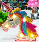 CRYSTAL UNICORN NIGHTLIGHT Diamond Painting Light Kit