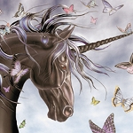 UNICORN & BUTTERFLIES Diamond Painting Kit Paint with Diamonds Kit