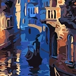 VENICE NIGHT Diamond Painting Kit Paint With Diamonds Kit