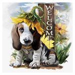 WELCOME BEAGLE Diamond Painting Kit Paint with Diamonds Kit