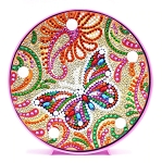 CRYSTAL BUTTERFLY PLATE Diamond Painting Light Kit