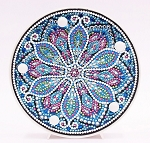 CRYSTAL MANDALA PLATE Diamond Painting Light Kit