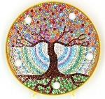 CRYSTAL TREE PLATE Diamond Painting Light Kit