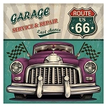 ROUTE 66 GARAGE Diamond Painting Kit Paint with Diamonds Kit