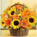 SUNFLOWER BASKET Diamond Painting Kit Paint with Diamonds Kit