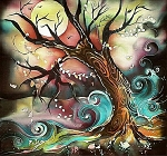 WICKED TREE Diamond Painting Kit Paint with Diamonds Kit