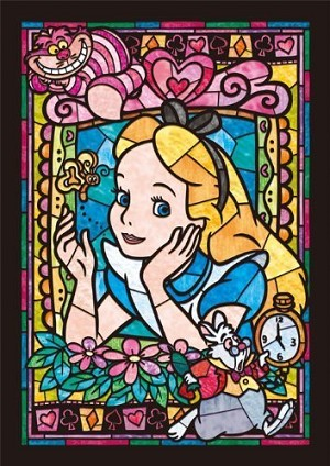 ALICE STAINED GLASS Diamond Painting Kit Paint with Diamonds Kit