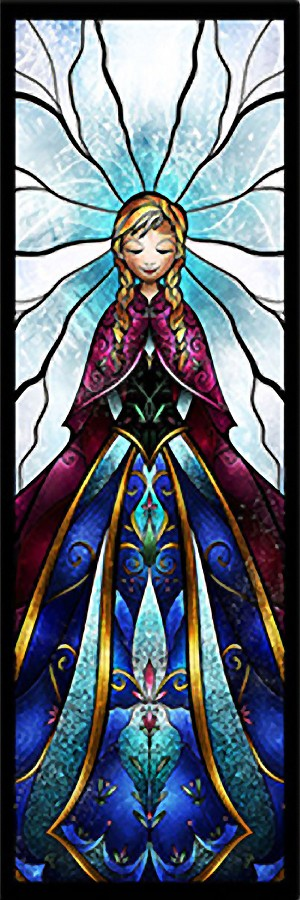 TALL ANNA STAINED GLASS Diamond Painting Kit Paint with Diamonds Kit
