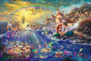 ARIEL & ERIC'S UNDERWATER WORLD Diamond Painting Kit Paint with Diamonds Kit
