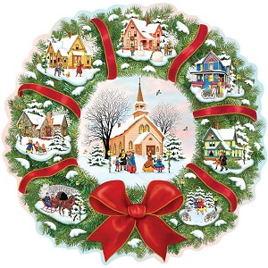 CHRISTMAS WREATH Diamond Painting Kit Paint with Diamonds Kit