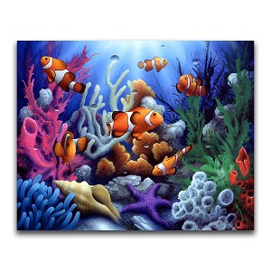 CLOWN FISH REEF Diamond Painting Kit Paint with Diamonds Kit