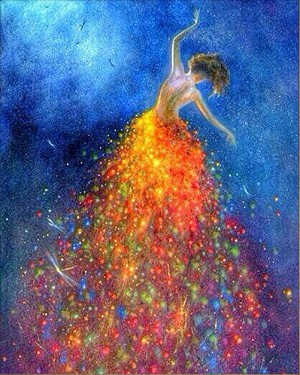 FIREWORKS GOWN Diamond Painting Kit Paint with Diamonds Kit