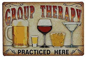 GROUP THERAPY DRINKING Diamond Painting Kit Paint with Diamonds Kit