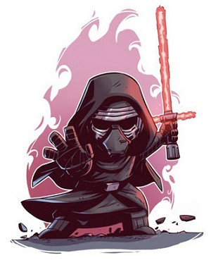 KYLO REN STAR WARS CARTOON Diamond Painting Kit Paint with Diamonds Kit
