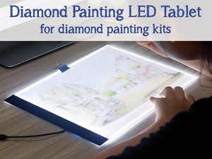 Ultra Thin LED Light Tablet Pad for Diamond Painting Kits