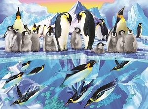PENGUINS Diamond Painting Kit Paint with Diamonds Kit