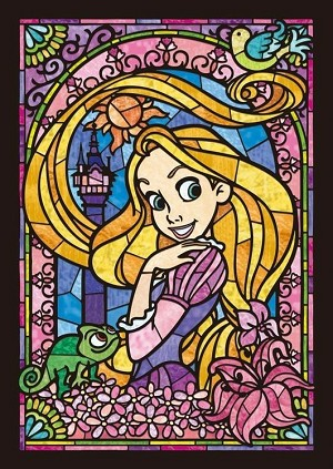 RAPUNZEL TANGLED STAINED GLASS Diamond Painting Kit Paint with Diamonds Kit