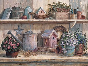 RUSTIC GARDEN Diamond Painting Kit Paint with Diamonds Kit