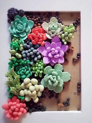 SUCCULENT GARDEN Diamond Painting Kit Paint with Diamonds Kit