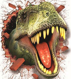 T-REX BUSTING OUT Diamond Painting Kit Paint With Diamonds Kit
